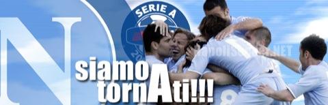 Il Napoli in Serie A!