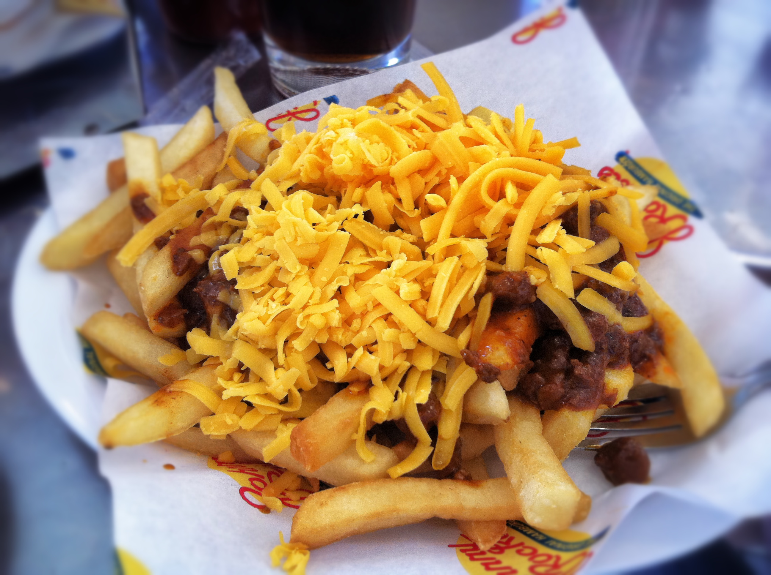 29 october 2013 # chili # cheese # fries # tanzenvsfood