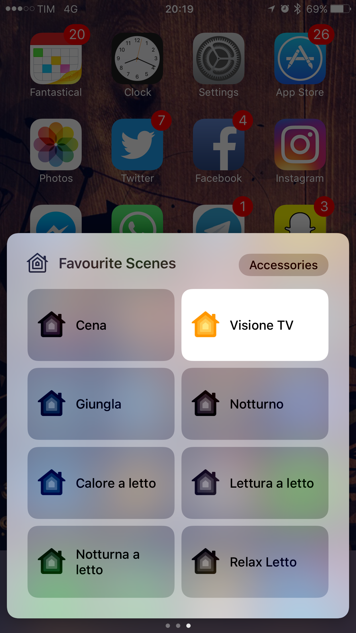 controllo casa con iphone
